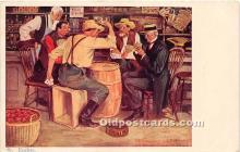spo012534 - Old Vintage Gambling Postcard Post Card