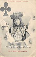 spo012535 - Old Vintage Gambling Postcard Post Card