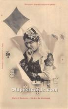 spo012536 - Old Vintage Gambling Postcard Post Card