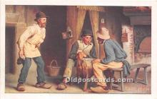spo012544 - Old Vintage Gambling Postcard Post Card