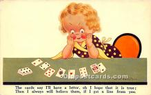 spo012546 - Old Vintage Gambling Postcard Post Card