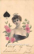 spo012549 - Old Vintage Gambling Postcard Post Card