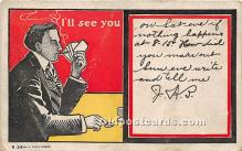 spo012564 - Old Vintage Gambling Postcard Post Card