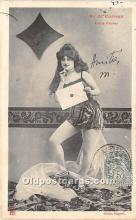 spo012565 - Old Vintage Gambling Postcard Post Card