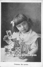 spo012581 - Old Vintage Gambling Postcard Post Card