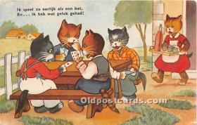 spo012589 - Old Vintage Gambling Postcard Post Card
