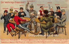 spo012591 - Old Vintage Gambling Postcard Post Card
