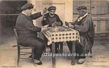 spo012592 - Old Vintage Gambling Postcard Post Card