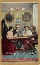 spo012599 - Old Vintage Gambling Postcard Post Card