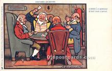 spo012602 - Old Vintage Gambling Postcard Post Card