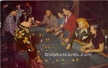 spo012611 - Old Vintage Gambling Postcard Post Card