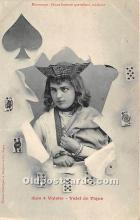 spo012613 - Old Vintage Gambling Postcard Post Card