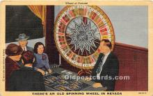 spo012615 - Old Vintage Gambling Postcard Post Card