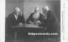 spo012624 - Old Vintage Gambling Postcard Post Card