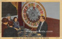 spo012632 - Old Vintage Gambling Postcard Post Card