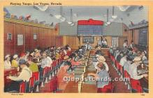 spo012633 - Old Vintage Gambling Postcard Post Card