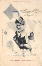 spo012638 - Old Vintage Gambling Postcard Post Card