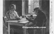 spo012646 - Old Vintage Gambling Postcard Post Card