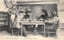 spo012648 - Old Vintage Gambling Postcard Post Card