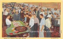 spo012653 - Old Vintage Gambling Postcard Post Card