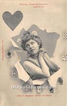 spo012668 - Old Vintage Gambling Postcard Post Card