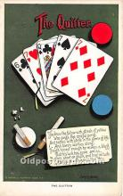 spo012669 - Old Vintage Gambling Postcard Post Card