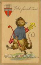 spo013022 - Billypossum Series, Golf Postcard Postcards