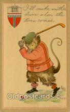 spo013024 - Billypossum Series, Golf Postcard Postcards