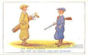 spo013150 - Golf Postcard Postcards