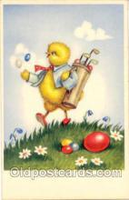 spo013173 - Chicken, Golf Postcard Postcards
