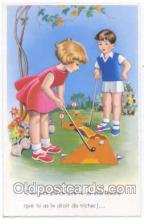 spo013181 - Miniature Golf Postcard Postcards