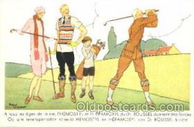 spo013198 - Golf Postcard Postcards