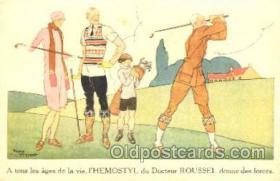 spo013200 - Golf Postcard Postcards