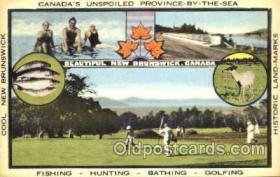 spo013219 - Golf New Brunswick, Canada Postcard Postcards