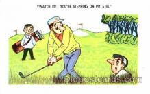 spo013225 - Golf Postcard Postcards