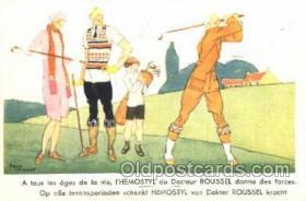 spo013232 - Golf Postcard Postcards