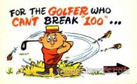 spo013234 - Golf Postcard Postcards