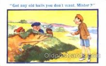 spo013238 - Golf Donald McGill Postcard Postcards