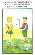spo013243 - Golf Postcard Postcards