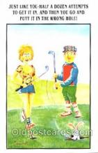 spo013264 - Golf Postcard Postcards