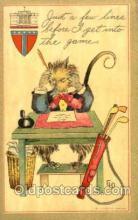 spo013279 - Golf Artist Ethel Dewees Postcard Postcards