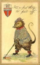 spo013280 - Golf Artist Ethel Dewees Postcard Postcards