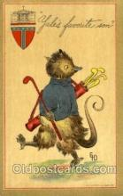 spo013281 - Golf Artist Ethel Dewees Postcard Postcards