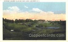 spo013318 - Lockport Country Club & Golf Links Golf Postcard Postcards