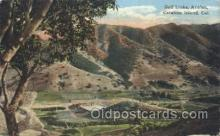 spo013328 - Golf Links, Avalon, Catalina Island, California, USA Golf Postcard Postcards