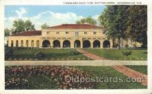 spo013331 - Timuquana Golf Club, Putting Green, Jacksonville, Florida, USA Golf Postcard Postcards
