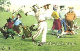 spo013358 - Golf Postcard Post Card