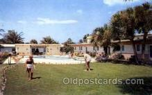 spo013368 - Jasmin Villa and Motel, Pompano Beach, Florida, USA Golf Postcard Post Card