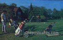 spo013385 - Granby Que Golf, Golfing Postcard Post Card Old Vintage Antique