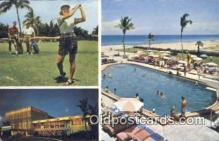 spo013388 - Attache Resort, Hollywood By The Sea, FL USA Golf, Golfing Postcard Post Card Old Vintage Antique